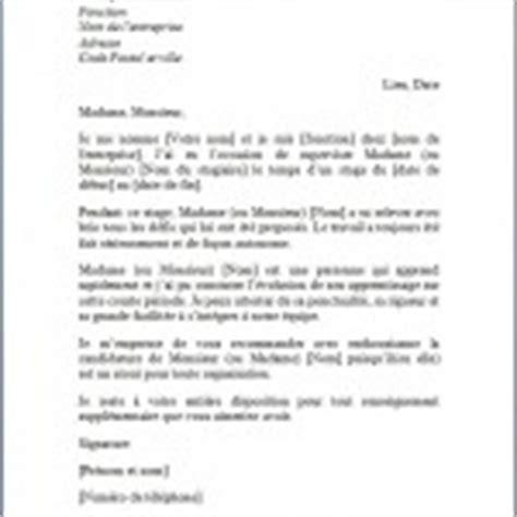 Lettre De Recommandation Collègue Lettre De Recommandation 187 Exemples Et Mod 232 Les Gratuits