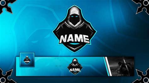 gamingclan mascot logo banner avatar template