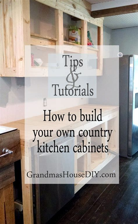 cost to build your own kitchen cabinets how to diy build your own white country kitchen cabinets