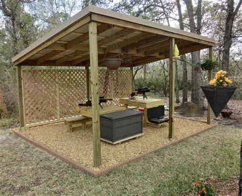 backyard shooting range construct outdoor firing range tv nude scenes