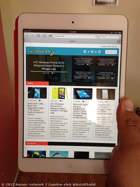 Tablet Apple Di Malaysia mini dan 4 boleh didapati di malaysia bermula hari ini amanz