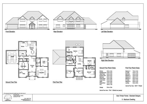 five bedroom home plans vachery 5 bedroom house design timber frame