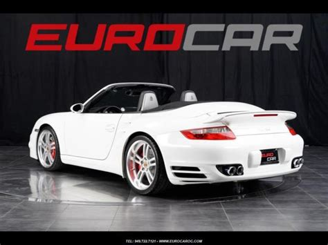 custom porsche 911 turbo porsche 911 turbo cabriolet sport seats custom wheels
