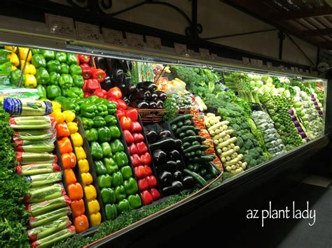 produce section of grocery store ramblings from a desert garden adventures in the