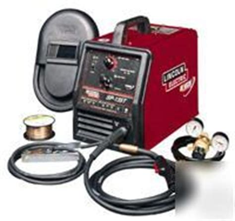 lincoln electric sp 135t new lincoln electric sp 135t mig welder k1873 1 brand