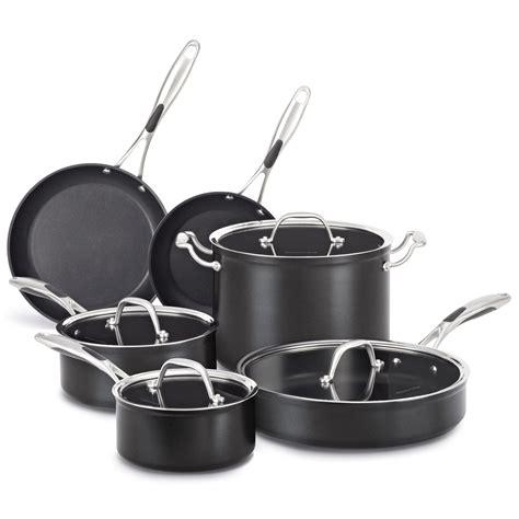 Kitchenaid Pans Kitchen Aid 10 Nonstick Cookware Set Pots Pans