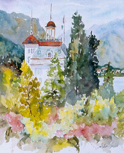watercolor painting pat fiorello paintings watercolor paintings landscapes