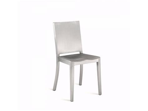 sedie in alluminio hudson sedia collezione hudson by emeco design philippe starck