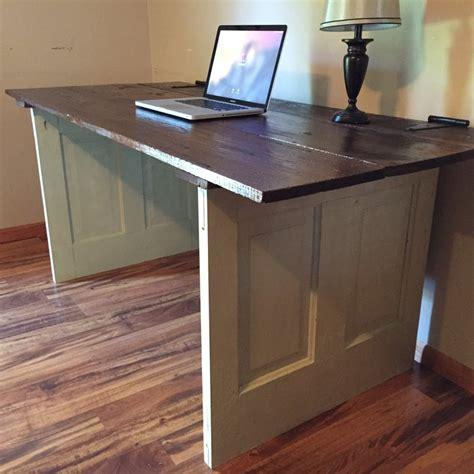 repurposed doors computer desk by michaelray