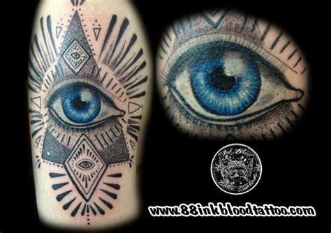 tattoo eye of god auge gott tattoo von 88ink blood tattoo studio
