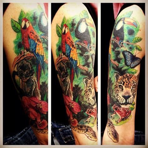 jungle themed tattoo ideas jungle themed tattoo by elf tat pinterest elves