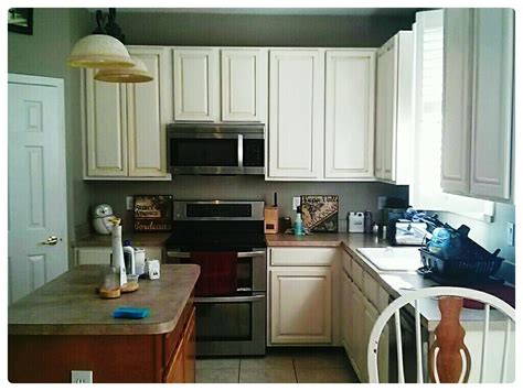 Painted Kitchen Cabinets by Kitchen Cabinet Makeover With Sloan Chalk Paint