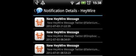 Android Notification History by Miglior App Della Settimana Notification History