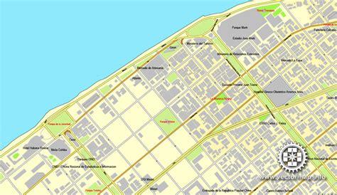 printable map havana havana cuba printable vector street city plan map full
