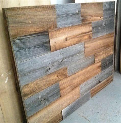 wood board headboard 25 best ideas about barn board headboard on pinterest