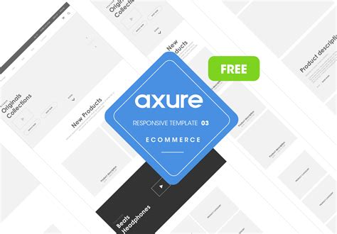 free axure templates free axure widgets and library kits for wireframing and