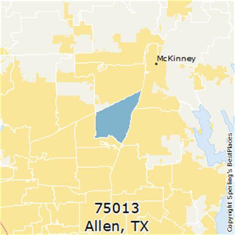 allen texas zip code map best places to live in allen zip 75013 texas