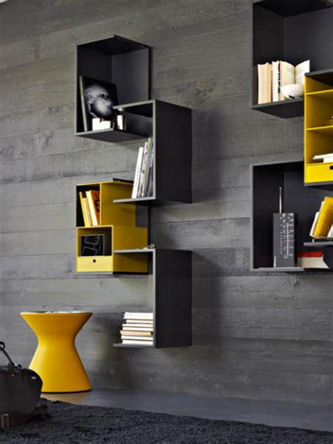 modular shelving systems  rodolfo doldoni modern wall