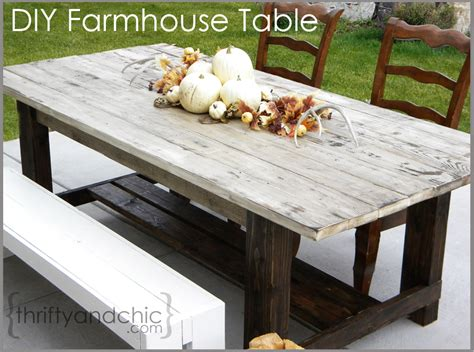 patio farm table thrifty and chic diy projects and home decor