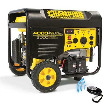 shop chion power equipment 3500 running watt portable