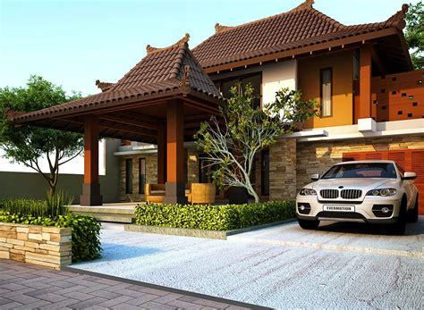 rumah minimalis gaya jawa modern ideas  home   house design rumah jawa  design