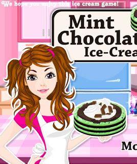 Permainan Membuat Ice Cream Lezat | game memasak membuat cake ice cream games masak