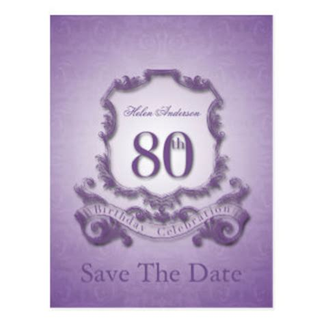 save the date birthday templates free 80th birthday invitations zazzle co nz