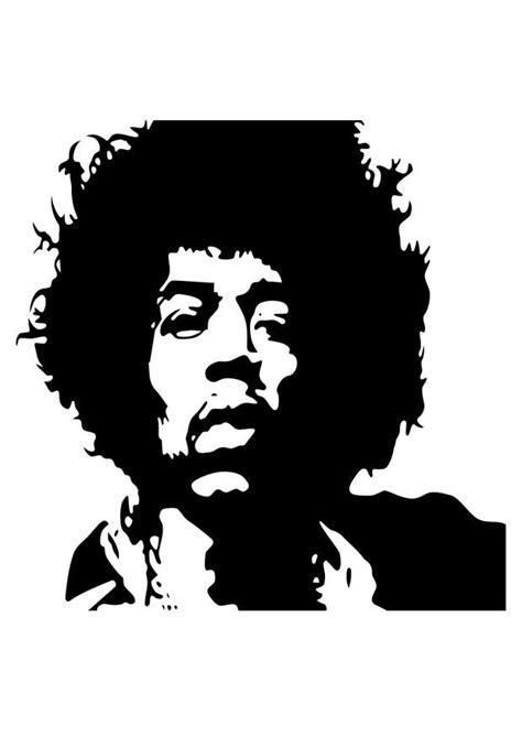 Dibujo para colorear Jimi Hendrix - Dibujos Para Imprimir