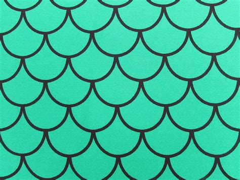 Fish Print Upholstery Fabric Mermaid Scale Spandex Fabric Fish Scale Print Sold By The
