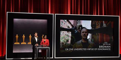 Oscar 2015 La Lista Completa De Los Nominados Fotos Depor Oscar 2015 Birdman Tiene 9 Nominaciones La Lista Completa Huffpost