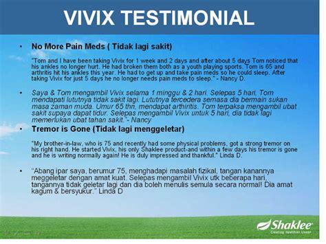 Suplemen Vivix vivix shaklee suplemen terbaik merawat penyakit parkinson tentang shaklee ajee