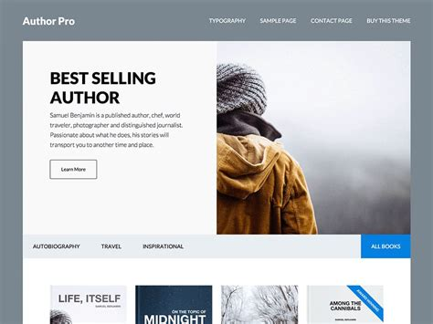wordpress templates for articles 20 best wordpress themes for writers authors 2018 athemes