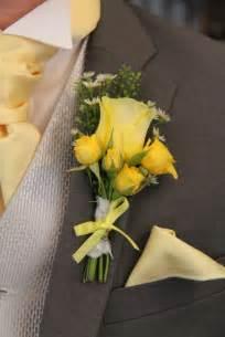 Boutonniere Pins Yellow Rose Boutonniere Lemon Amp Yellow Wedding Flowers And Ideas