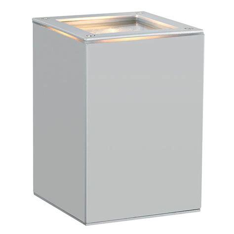 eglo tabo 1 light silver outdoor wall light 88099a the