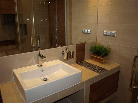 Biała łazienka Galeria Biała łazienka łazienkowe Umywalka Nablatowa