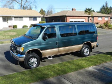 auto air conditioning repair 1996 ford econoline e250 head up display find used 1996 ford e350 econoline clubwagon van chateau pkg 4x4 quigley conversion in