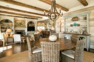 Fireplace Raleigh - coastal charm beach style dining room raleigh by dempsey hodges construction