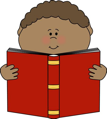 picture of a book clipart boy reading a book clip boy reading a