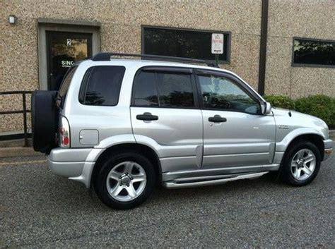 Suzuki Grand Vitara Tires Purchase Used 2003 Suzuki Grand Vitara 4x4 No Reserve