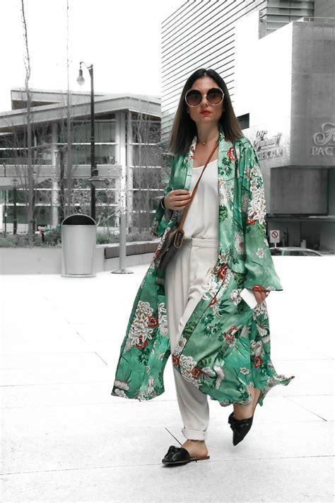 Zara Kimono by Aurela Lacaj Zara Kimono Kimono Style Lookbook