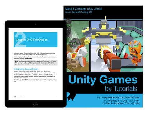 unity tutorial beginner pdf ray wenderlich store unity games by tutorials