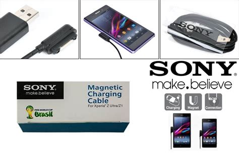 Sony Magnetic Charging Cable Data wts xperia z2 original rearth store