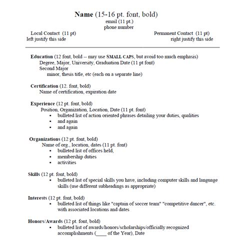 Resume Edge by Sle Resumes Creative Edge Resumes Recentresumes