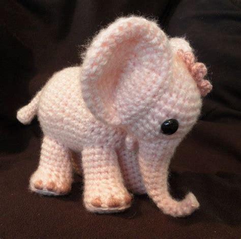 Elephant Plush Rug by Best 25 Crochet Elephant Pattern Ideas On
