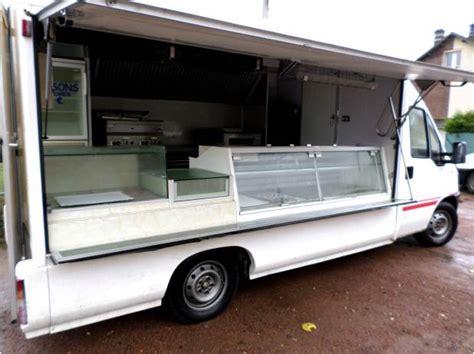 camion cuisine mobile camion food truck snack citroen jumper dies utilitaires