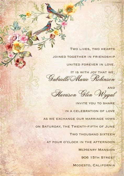 Wedding Invitation Letter In Word Format Best 25 Casual Wedding Invitations Ideas On