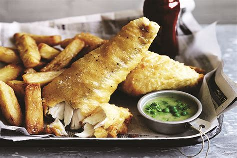 thrice cooked media battered blue eye and thrice cooked chips