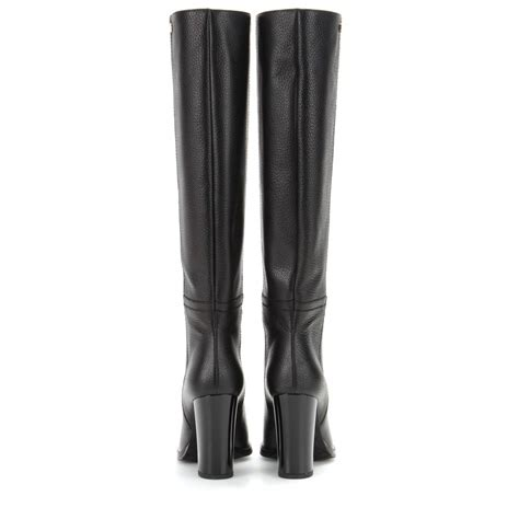 Haywood Leather Black jimmy choo haywood leather boots in black lyst