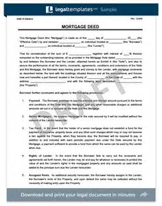 trust deed template uk create a free mortgage deed print
