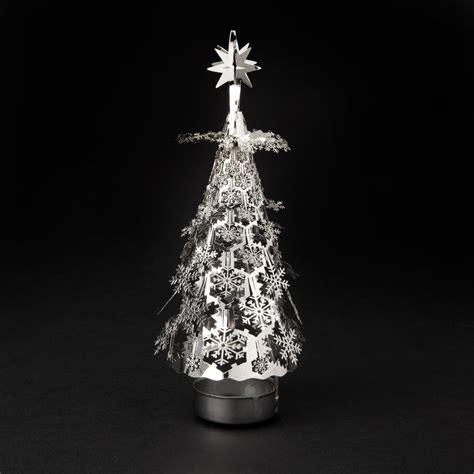 precious metal pyramid rotating tree christmas tree